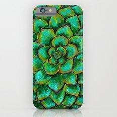 Succulent Mandala Slim Case iPhone 6s