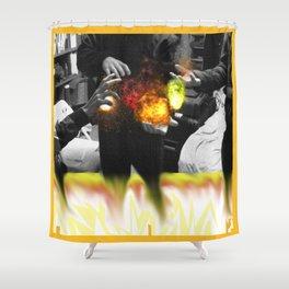 we gots That fire son! Shower Curtain