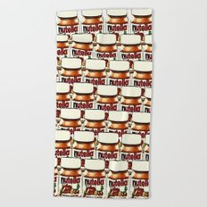 Nutella-76 Beach Towel