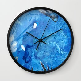 Whale and Seahorse Wall Clock