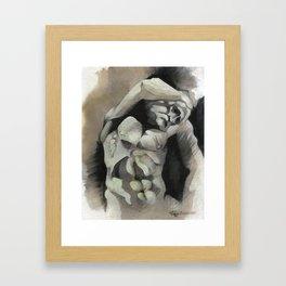 Bearded Slave Framed Art Print
