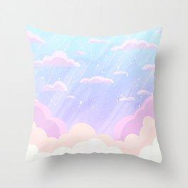 Pastel Heaven Throw Pillow
