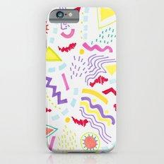 Pastel Postmodern doodle iPhone 6s Slim Case