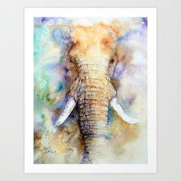 Dream Big Elephant Art Print