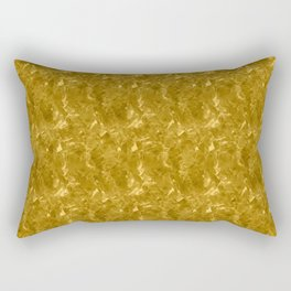Gold Marble Design Rectangular Pillow