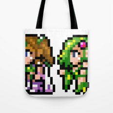 Final Fantasy II - Rosa and Rydia Tote Bag