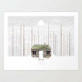 The Cabin Art Print