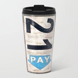 21 Pay Metal Travel Mug