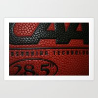 basketball Art Prints featuring Basketball by Danielle Podeszek