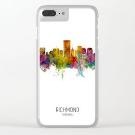 Richmond Virginia Skyline Clear iPhone Case