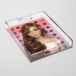 Candy Kiss Acrylic Tray