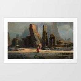Crypt Kingdom Art Print