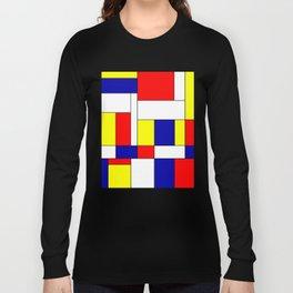 Mondrian #37 Long Sleeve T-shirt