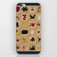 klaine iPhone & iPod Skins featuring I Still Believe in Klaine (Patchwork Love Quilt) by OldCoyote