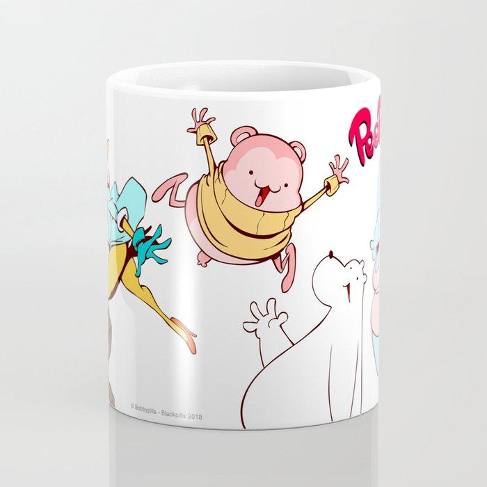 Peepoodo & The Super Fuck Friends Coffee Mug