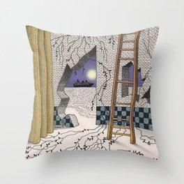 Fantasy2 Throw Pillow