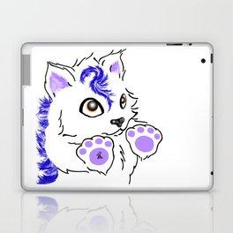 Snowfox - Blue Laptop & iPad Skin