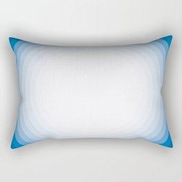 Blue circle pattern Rectangular Pillow