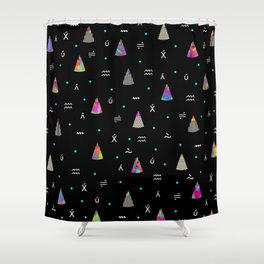 C.S.P.D. ii Shower Curtain