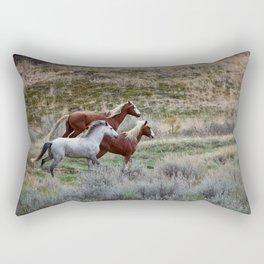 Running Wild Rectangular Pillow