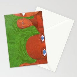 new land Stationery Cards
