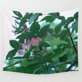a rose Wall Tapestry