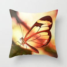 Butterfly 01 Throw Pillow