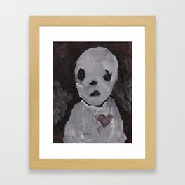 Portraits of Ghosts #2 Framed Art Print