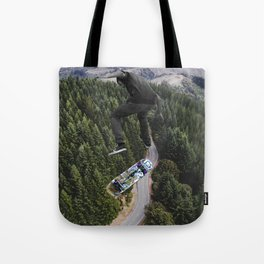 Jump higher Tote Bag