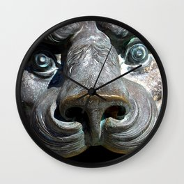 The Bronze Lion Wall Clock
