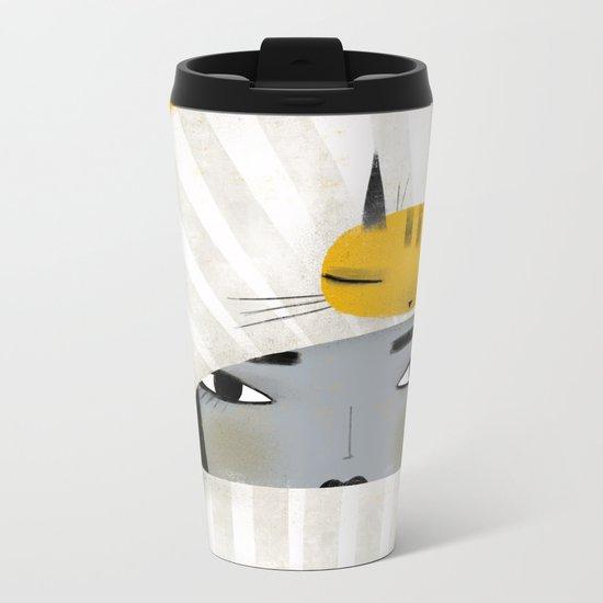 HAT SCARF COMBO Metal Travel Mug