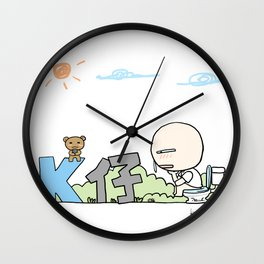 K Young-WC Wall Clock