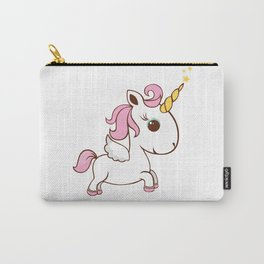 Simple magic unicorn icon Carry-All Pouch