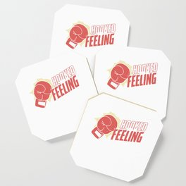 Hooked On A Feeling Boxers Sports Boxing Lovers Gifts Coaster