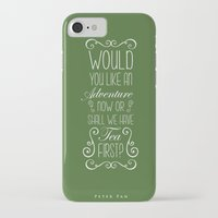 peter pan iPhone & iPod Cases featuring Peter Pan by Nikita Gill