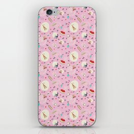 Paris pattern iPhone Skin
