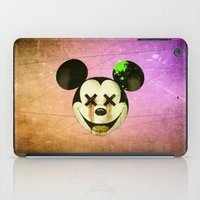 mickey iPad Cases featuring Mickey by wrong planet