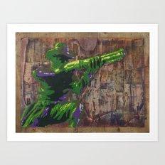 Cowboy Up! Art Print