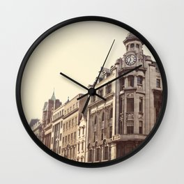 Morning in Dublin Wall Clock