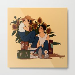 The Travellers Metal Print