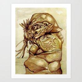 Faceless II Art Print