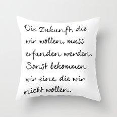 Joseph Beuys Throw Pillow