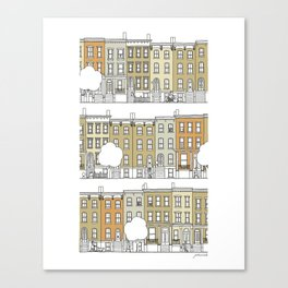 Brooklyn (color) Canvas Print