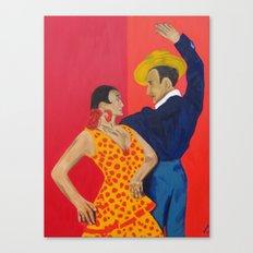 Jose y Lola Canvas Print