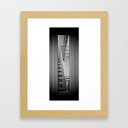 Exit Prohibited Framed Art Print