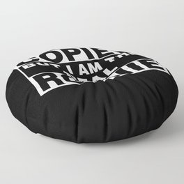 I Am Ronnie Funny Personal Personalized Fun Floor Pillow