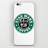 starwars iPhone & iPod Skins featuring StarWars Coffee by Unicity
