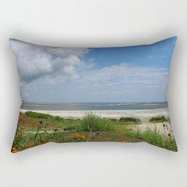 East  Beach -  Golden IsIes Rectangular Pillow