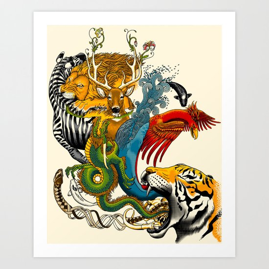 Nature's Way Art Print