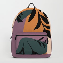 minimal modern art Backpack